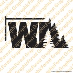 Jeep Grand Cherokee WJ with Trees Decal by GraphicForest on Etsy