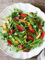 Happily Eat Your Greens With This Easy Salad Recipe #refinery29