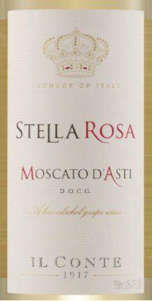 Stella Rosa Moscato DAsti Il Conte DAlba  Italian Sparkling Wine 90 Points >>> Click image to review more details.