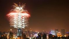 Taipei has recently been named among the top 10 choices to countdown into the New Year 2020 in Asia New Years Eve 2016, New Year 2020, New Years Eve Fireworks, Fire Works, Taipei, Capital City, Nye, Sparklers, Events