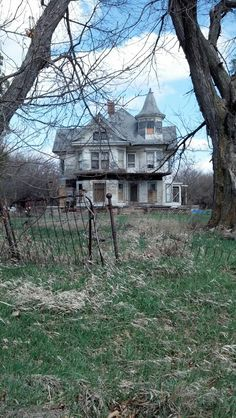 Beautiful old house, Nebraska