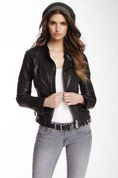 Line The Triumph Leather Jacket