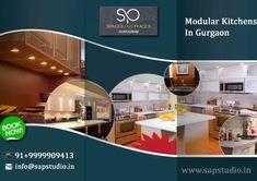 Modular Kitchens in Gurgaon Organized Kitchen, Kitchen Organization, Design Your Kitchen, Design Your Own, Marine Plywood, Gas Stove, Kitchen Styling, Countertops, Kitchens