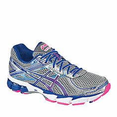 ASICS Women's GT-1000 2 Running Shoes give you the cushioning and support you need for a comfortable, stable stride. The ASICS GT-1000™ 2 packs plenty of comfort and performance features into one sleek package!