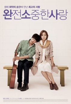 "Precious Love (Korean 2013) - ""A story about a woman who tries to kill herself after her dreams to become a singer fail and a man who suffered childhood cancer."" Sounds interesting, but mostly I like the picture XD"