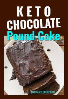 Keto Friendly Chocolate, Keto Friendly Desserts, Low Carb Desserts, Low Carb Recipes, Banting Recipes, Protein Recipes, Protein Foods, Low Carb Chocolate Cake, Chocolate Ganache