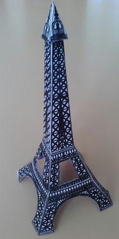 Préférence Bricolage enfants: construire la Tour Eiffel.   Activités brico à  PJ98
