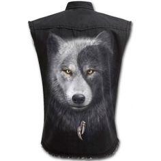 Camisa Sin Mangas Wolf Chi Spiral / XT1612