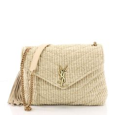 Buy your loulou handbag Saint Laurent on Vestiaire Collective, the luxury consignment store online. Second-hand Loulou handbag Saint Laurent Beige in Other available. Sac Saint Laurent, Handbag Accessories, Fashion Accessories, Sacs Design, Ysl Bag, Designer Totes, Designer Handbags, Looks Chic, Gucci Handbags