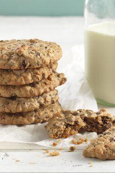 Hi Fiber Breakfast Cookies Recipe made with Hi-Maize flour.