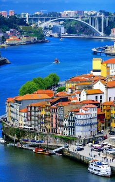 Why don't you make a visit to our showroom in this wonderful city? Porto is a historic and captivating city, which is quickly becoming one of the most popular and respected tourist destinations. Visit Porto, Visit Portugal, Spain And Portugal, Portugal Travel, Great Vacation Spots, Great Vacations, Places Around The World, Travel Around The World, Around The Worlds