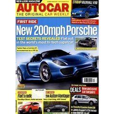 AUTOCAR / GB stellt Neuentwicklungen auf dem Automarkt vor. Tests und technische Daten geben Übersicht und durch den britischen Anzeigenteil können Wünsche gleich erfüllt werden.