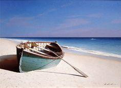 Beached Boat - zhen-huan lu