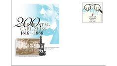 Gedenkganzsache zum 200. Geburtstag von Carl Zeiss
