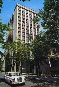 Old Sarajevo Photos - Hotel Bristol, 1986