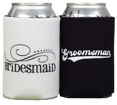 for the bridesmaids and the groomsmen