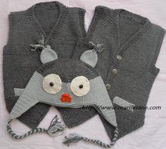Erkek Bebek Orgu Cepken Yelek Modeli - Modelleri Fiyatları 2014