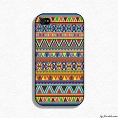 Aztec Design Iphone Case for Iphone 4 and Iphone 4s by fundakcases