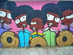 #MichaelJackson #Jackson5 by BAROK' [Bhur, Magic, Ciru, Demon & Cave], Zaragoza, Spain.