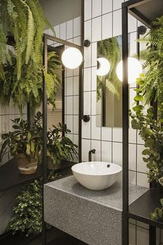 101 Studio Apartment Decorating Design Ideas For Spacious Space – home design Bad Inspiration, Bathroom Inspiration, Interior Inspiration, Bathroom Interior Design, Home Interior, Interior Plants, Washroom Design, Classic Interior, Interior Design Studio