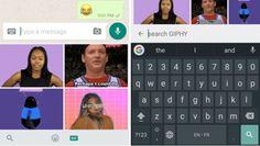 WhatsApp integra el buscador Giphy en actualización
