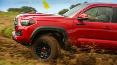 We drive the latest off-road special pickup truck from Toyota, the Tacoma TRD Pro. It is comfortable on-road and off and has almost all the right equipment. Toyota Tacoma Trd Pro, Tacoma 4x4, Preschool Lesson Plans, Toyota Trucks, First Drive, Car Brands, Chevrolet Impala, Picture Design, Pickup Trucks