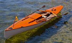 The RowCruiser has comfortable sleeping accommodation for one person without sacrificing performance. It's as fast as a sea kayak and can handle rough waters.