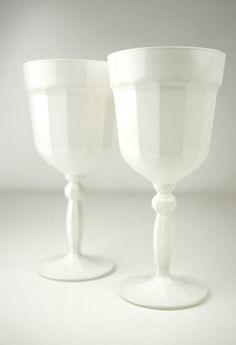 Wine Goblets - White