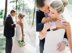 Sweet wedding photographs.