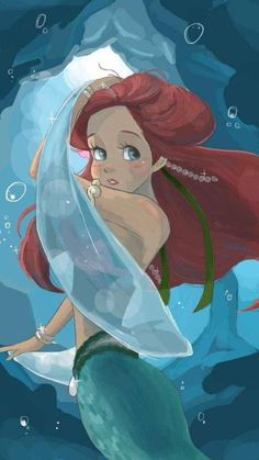 Ariel 〖 Disney The Little Mermaid Ariel 〗 Ariel Disney, Walt Disney, Mermaid Disney, Disney Little Mermaids, Ariel The Little Mermaid, Disney Dream, Disney Girls, Disney Magic, Goth Disney