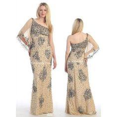 PacificPlex Satin Chiffon Prom Dress Holiday Formal Gown Bridesmaid ...