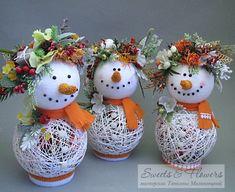 Интересная идея для декора на Рождество и Новый год