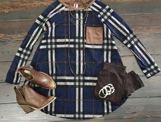 Plaid is always right on trend😍