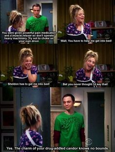 Penny and Sheldon scenes are the best :)