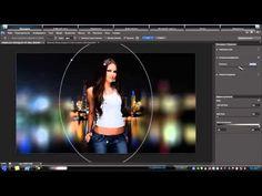 Уроки по фотошоп Эффект Боке - YouTube