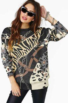 Chain Spotting Knit