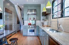 Cabbagetown - contemporary - Kitchen - Toronto - Beauparlant Design inc