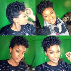 Love her Bantu Knot out!