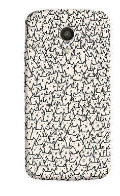 A LOT OF CATS MOTOROLA MOTO G 2ND GEN CASE  Rs.495.00