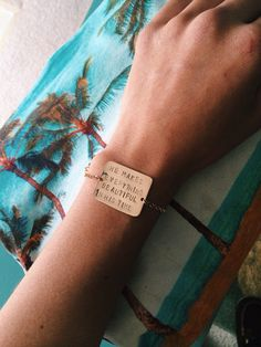 Underwater Bar Bracelet by UnderwaterHawaii on Etsy