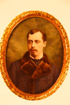 Prince Leopold, Duke of Albany was son of Queen Victoria and Prince Albert.