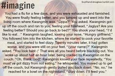 Boyfriend Kwangmin Imagine Kpop boyband