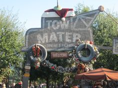 Merry Christmas from Tow Mater!