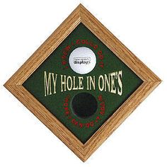 Hole In One, Calm, Display, Artwork, Gifts, Products, Floor Space, Work Of Art, Presents