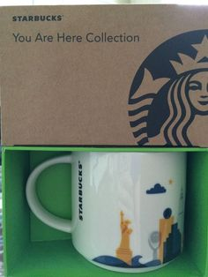 New York City You Are Here Collection Mug Coffee Cup Special Edition Starbucks #Starbucks
