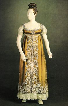 1817 dress worn by Princess Charlotte of Wales