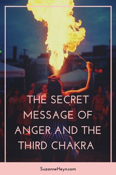Learn the powerful messages of the third chakra related to anger. Spiritual seekers need this important information to attain peace, happiness joy and reach your full potential.