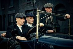 The Shelby brothers, Peaky Blinders (BBC)