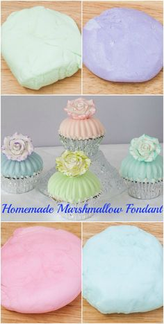 Homemade fondant is easy to make and so much tastier than store bought. This recipe for Homemade Marshmallow Fondant is perfect for decorating cakes.