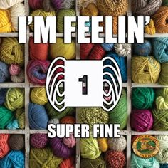 Fine yarn and tiny needles - yeah! Knitting Quotes, Knitting Humor, Crochet Humor, Knitting Yarn, Crochet Crafts, Yarn Crafts, Crochet Yarn, Crochet Projects, Sewing Crafts